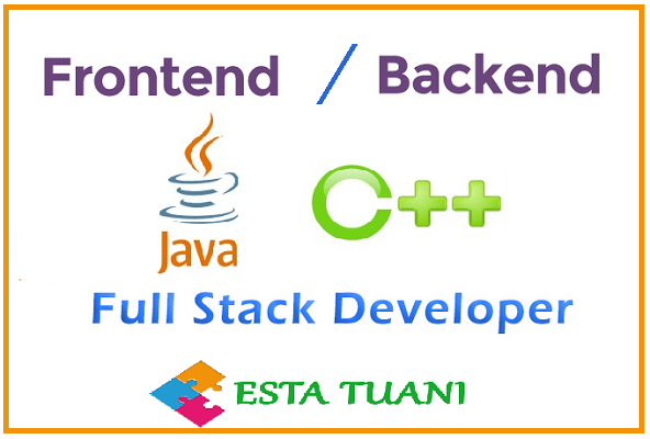 Full stack o Front end, Java o C++