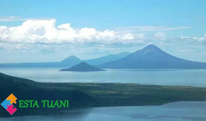lagos de centroamerica, estatuani