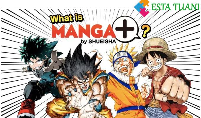 manga plus, esta tuani, shueisha