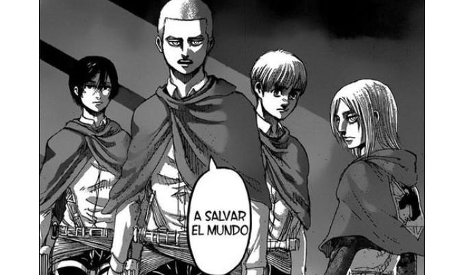 Shingeki no Kyojin capítulo 126